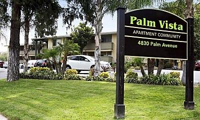 Community Signage, Palm Vista, 0