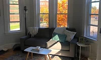 Living Room, 240 Crescent St, 1