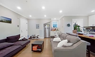 Living Room, 33 Merriam St., #1, 1
