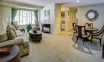 Living Room, Reflection Knoll, 1