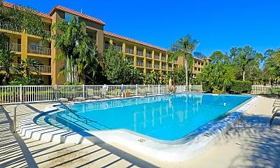 Pool, Griffin Park Apartments, 0