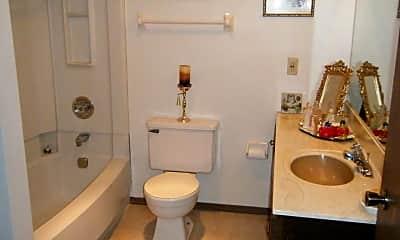 Bathroom, Servite Apartments, 2