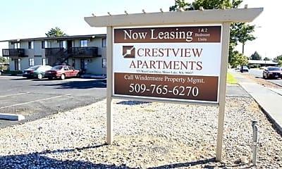 Community Signage, 523 W Crest Dr, 2