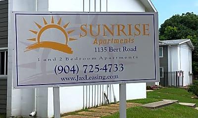 Sunrise Apartments, 1