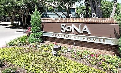 Community Signage, SoNA Apartments, 0