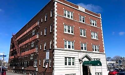 Building, East End Apartments, 1