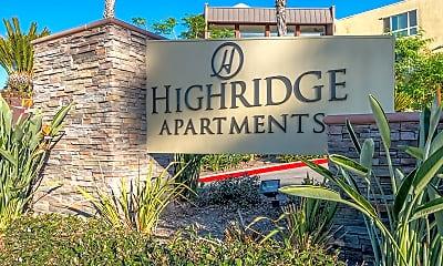 Community Signage, Highridge, 1