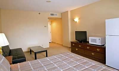 Bedroom, Siegel Suites Virginian, 1