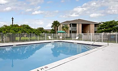 Pool, Indian River Apartments, 1