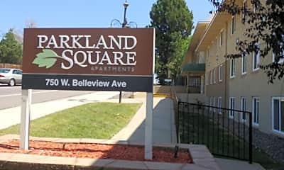 Parkland Square Apartments, 1