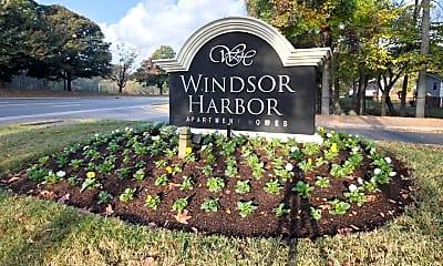 Community Signage, Windsor Harbor, 2