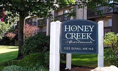 Community Signage, Honey Creek Apartments, 0