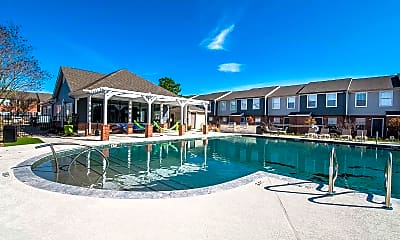 Pool, Parcside Townhomes, 0