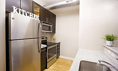 Kitchen, Chestnut Street Lofts, 0