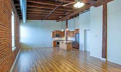 Living Room, Lofts at 512 Market, 1