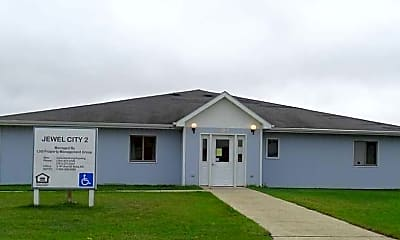 Building, Rolette County 7, 0