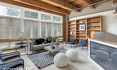 Living Room, 430 N Park Ave, 1