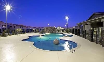 Pool, Three Palms, 0