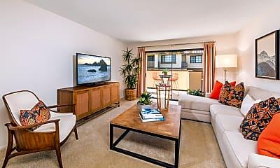 Living Room, Rancho Tierra, 1