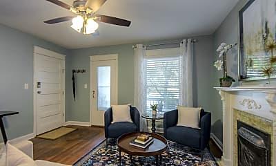 Living Room, 2541 Cherry St, 0