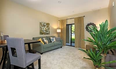 Living Room, The Phoenix at Delray, 1