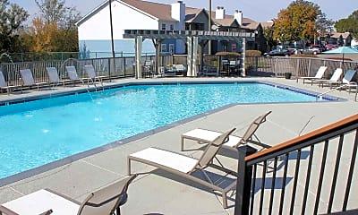 Pool, Cedar Pointe Apartments, 2