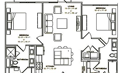 Bedroom, 7873 US-290, 2