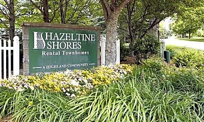 Community Signage, Hazeltine Shores, 2