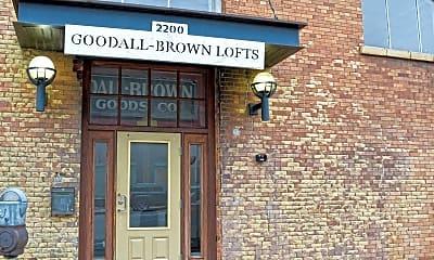 Building, Goodall-Brown Lofts, 1
