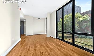 Living Room, 301 E 117th St 5-X, 1