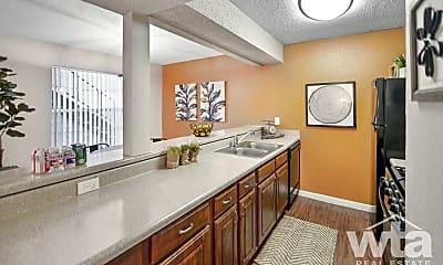Kitchen, 7201 Hart Ln, 1