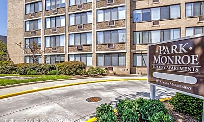 Community Signage, Park Monroe Apartments, 2