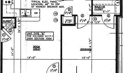 Bathroom, 2530 Scottsville Rd, 2