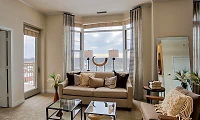 Living Room, The Amelia, 0