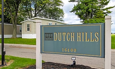 Community Signage, Dutch Hills, 1