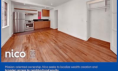 Living Room, 1823 1/4 Echo Park Ave, 1