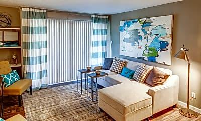 Living Room, Casa Tierra Apartments, 1