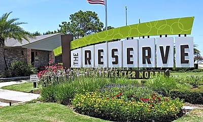 Community Signage, The Reserve @ City Center North, 2