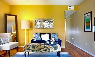 Living Room, Tesoro Apartments, 1