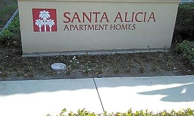 Santa Alicia, 1