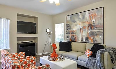 Living Room, The Preserve at Creekside, 1