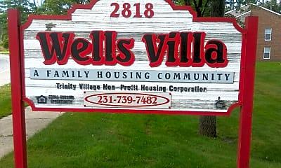 Wells Villa Apartments, 1