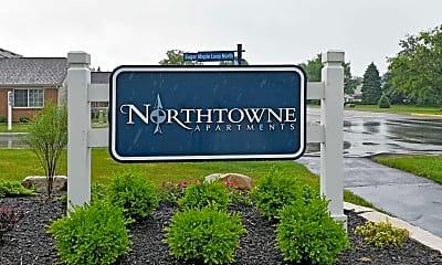 Community Signage, Northtowne Apartments, 2