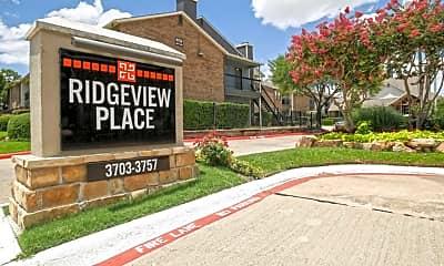Community Signage, Ridgeview Place, 2