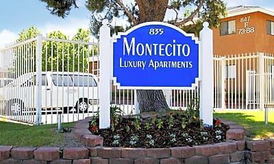 Community Signage, Montecito Apartments, 2