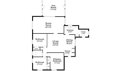 Building, 4556 Evers Pl, 1