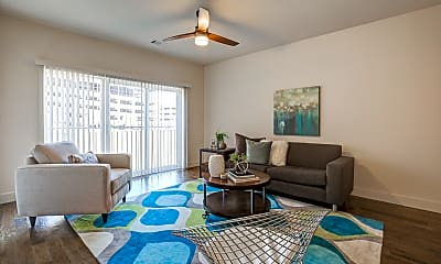 Living Room, Mirabelle on the Plaza, 1