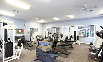 Fitness Weight Room, Valley View Estates, 1