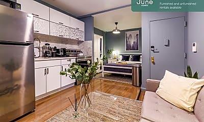 Living Room, 519 E 5th St, 1