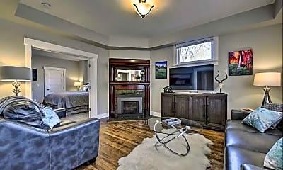 Living Room, 301 N Almond Street, Unit #3, 0